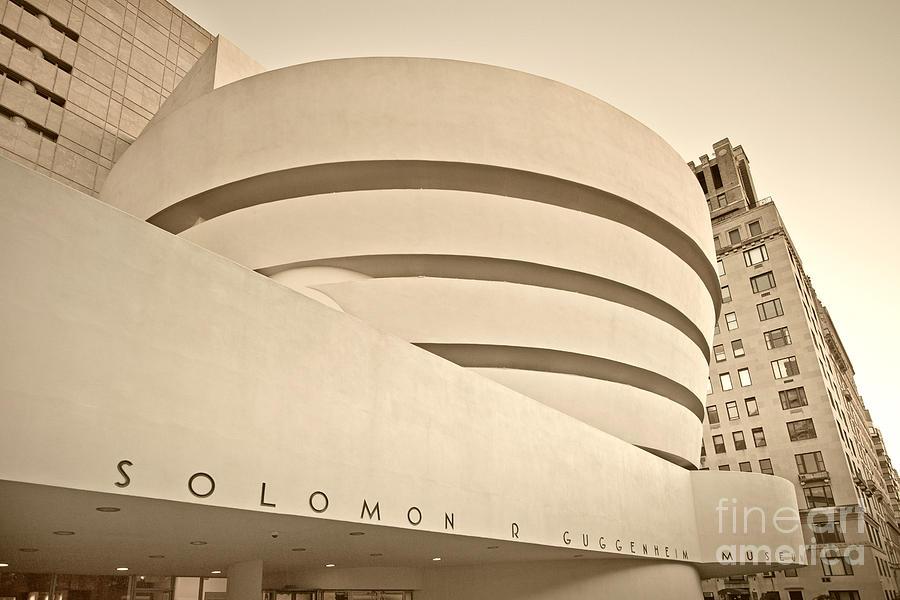 America Photograph - Guggenheim Museum by Juergen Held