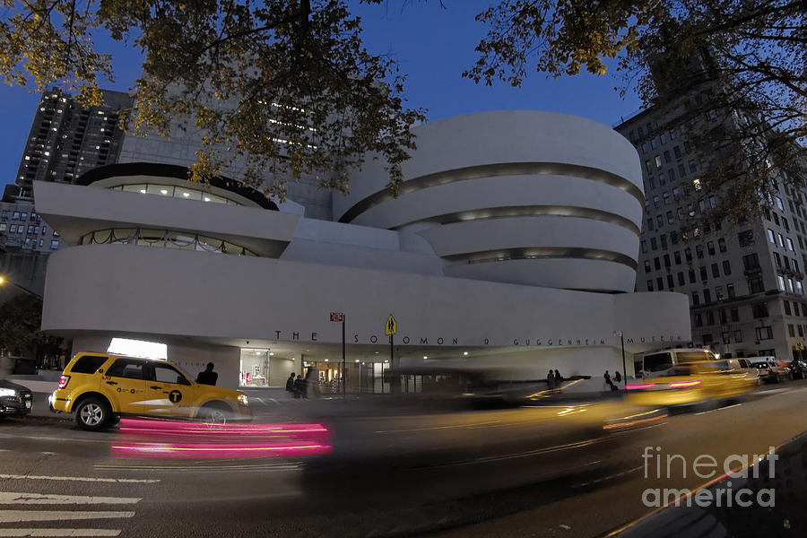Manhattan Photograph - Guggenheim Museum New york  by Juergen Held