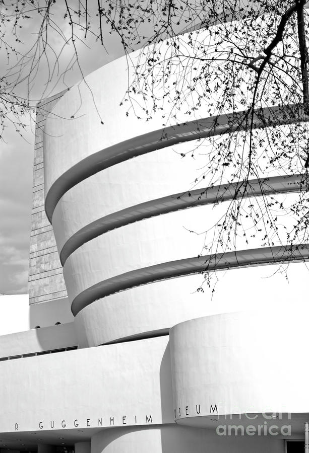 Museum Photograph - Guggenheim by NAJE Foto - Nelly Rodriguez