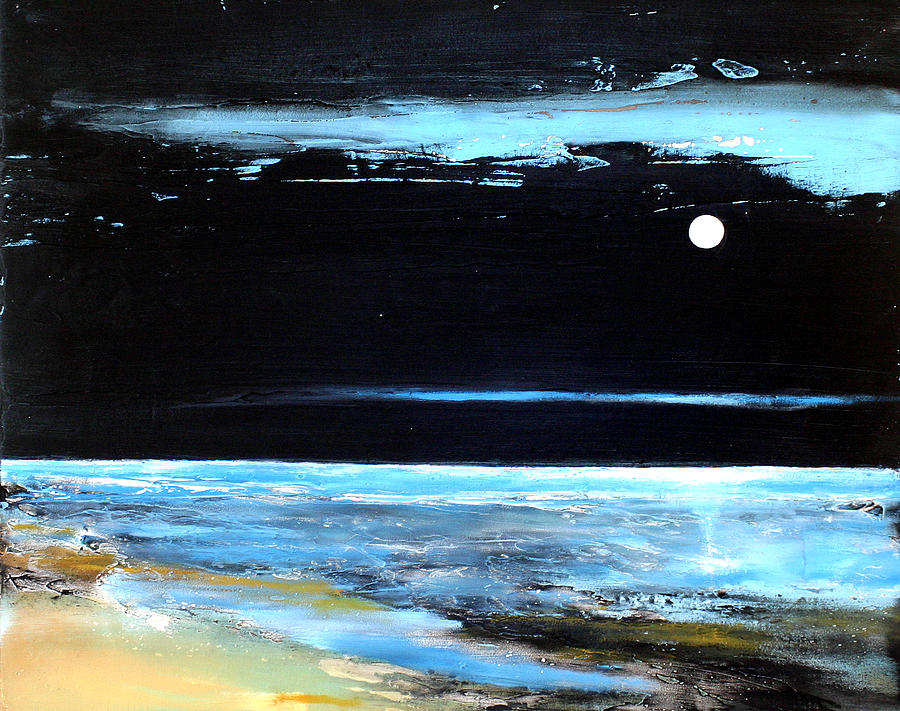 Landscape Painting - Guiding Light by Toni Grote