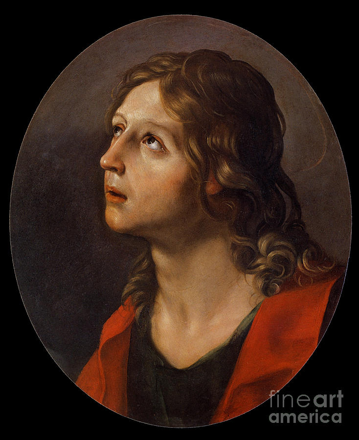 Black And Red Dress Painting - Guido Reni by MotionAge Designs