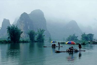 China Photograph - Guilin River Cruise by Andrew Greene