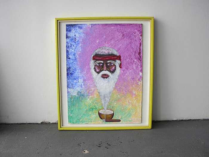 Guilla Espiritual Religion Afrocubana Painting by Carmelo  Prado