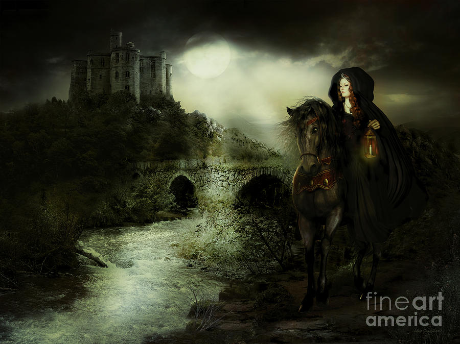Guinevere Digital Art - Guinevere by Shanina Conway
