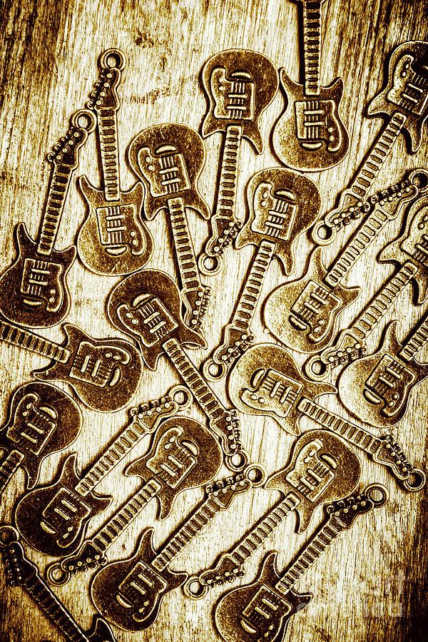 Guitar Photograph - Guitar Echo Chamber by Jorgo Photography - Wall Art Gallery