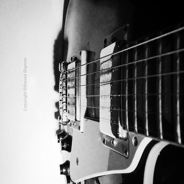 Guitars Photograph - The Guitar  by Steven Digman