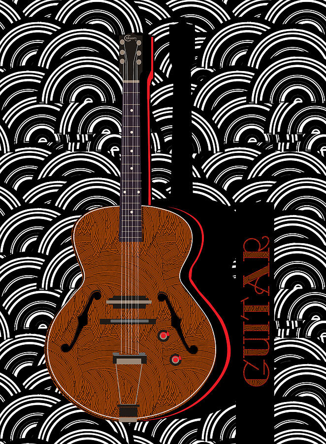 Guitar Grooves by Cecely Bloom