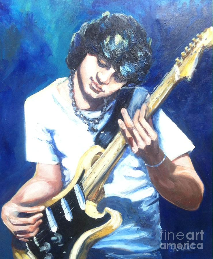 Guitar Love by Beverly Boulet