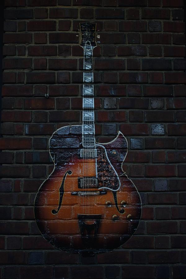 Guitar Photograph - Guitar by Steven Liveoak