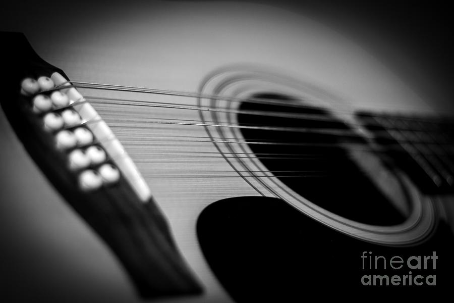 Guitar Photograph - Guitar4 by Bob Mintie
