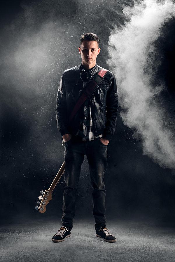 Guitarist Photograph