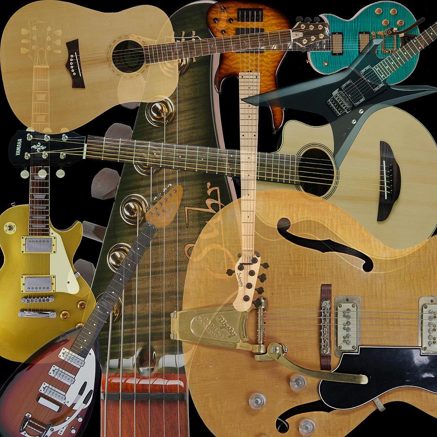Guitars Photograph