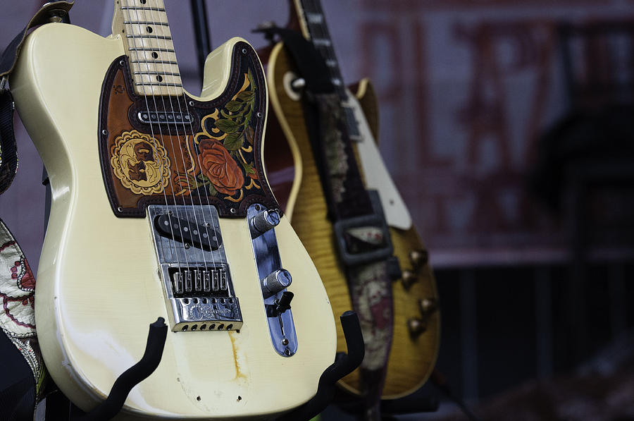 Guitars Photograph - Guitars by Kelly E Schultz