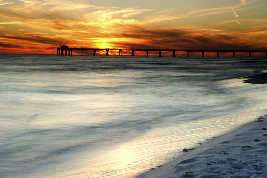 Florida Photograph - Gulf Coast Pier by Eric Foltz