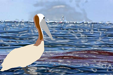 Gulf Oil Spill Digital Art by Lea Cox