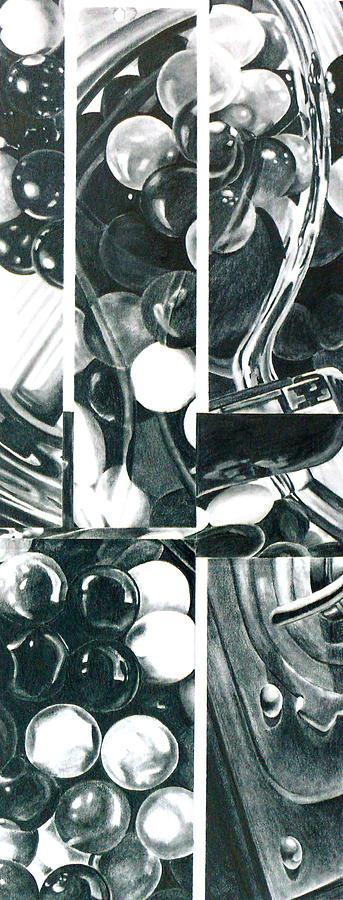 Gumballs Drawing - Gumballs by Cory Calantropio