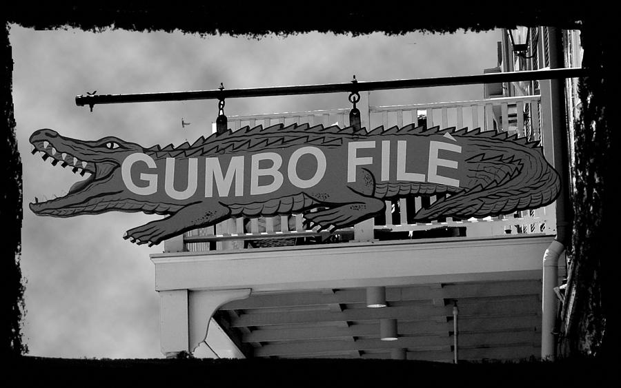 New Orleans Photograph - Gumbo File by Linda Kish