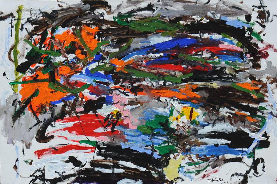 Abstract Paintings Painting - Gummies by Wayne Salvatore
