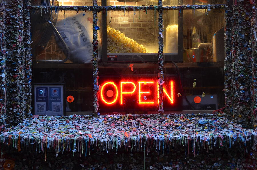 Open Photograph - Gumwall by Trina Huston