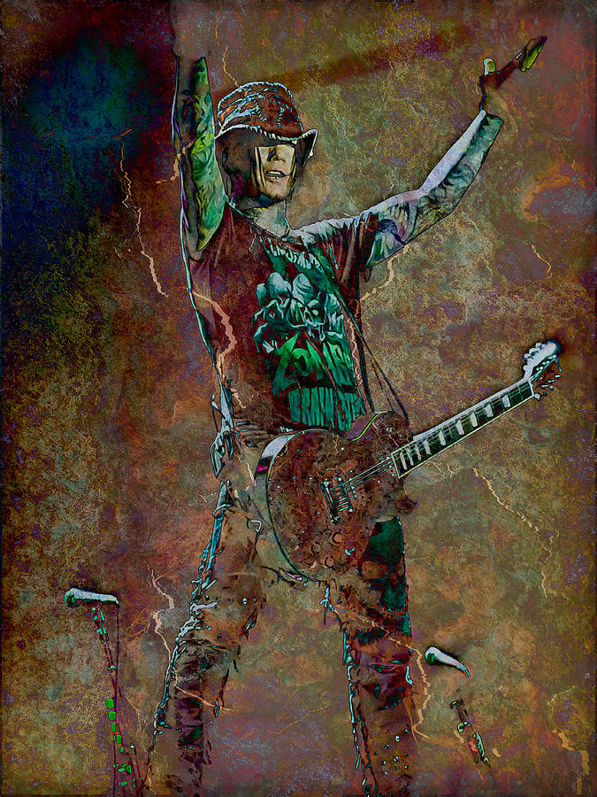 Photo Photograph - Guns N Roses Lead Guitarist Dj Ashba by Loriental Photography