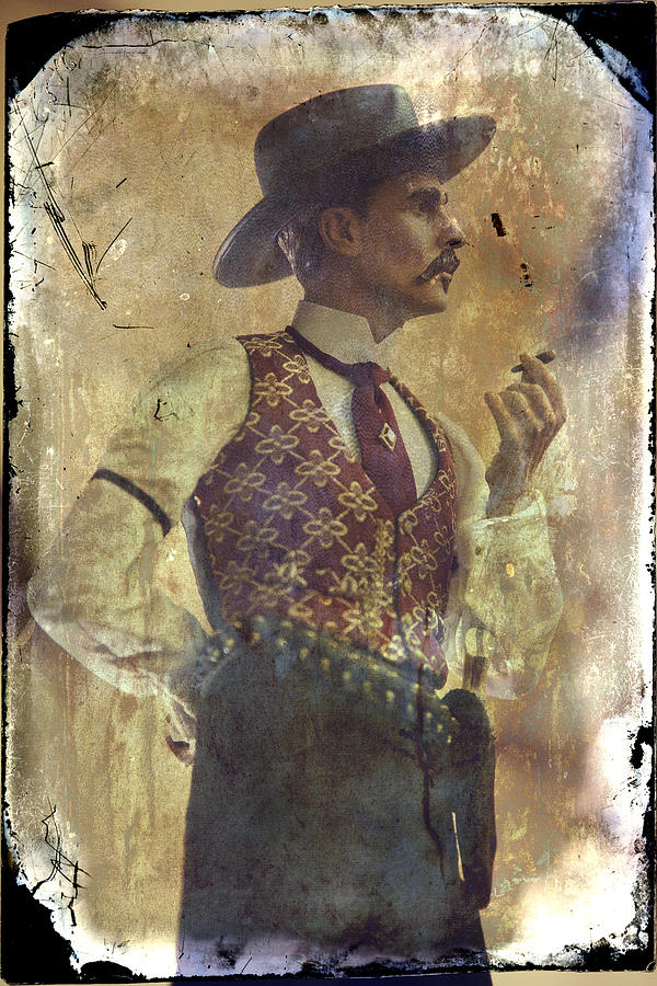Doc Holliday Photograph - Gunslinger IIi Doc Holliday In Fine Attire by Toni Hopper