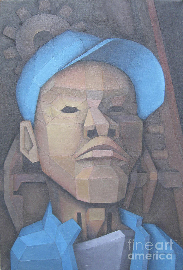 Guru Painting by Kevin J Graham
