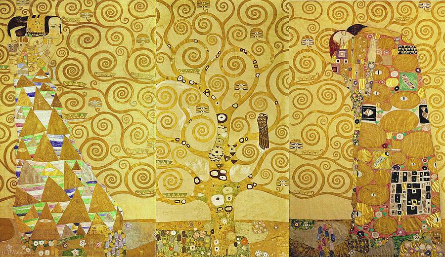 Gustav Klimt Tree Of Life Arbol De La Vida Painting by Gustav Klimt