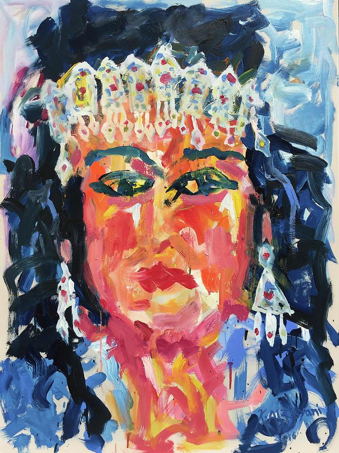 Impressionism Painting - Gypsy Afternoon by Khalid Alzayani