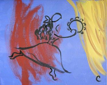 Gypsy Painting - Gypsy by Christina Wilson