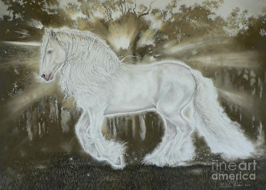 Gypsy Cob Pastel - Gypsy Dreams by Louise Green