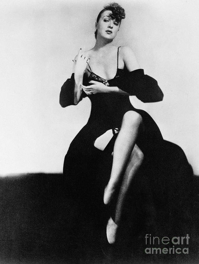1950s Photograph - Gypsy Rose Lee (1913-1970) by Granger