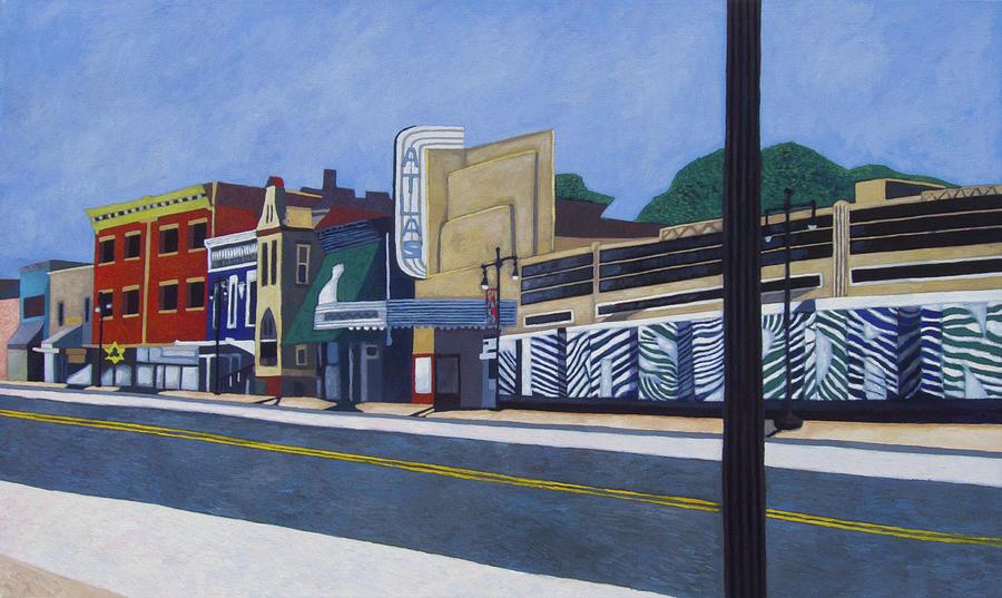 Washington Painting - H Street Ne / Atlas District In Washington Dc by Craig Moran