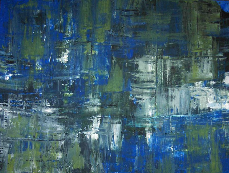 Abstract Painting - H1 by Colleen Winning