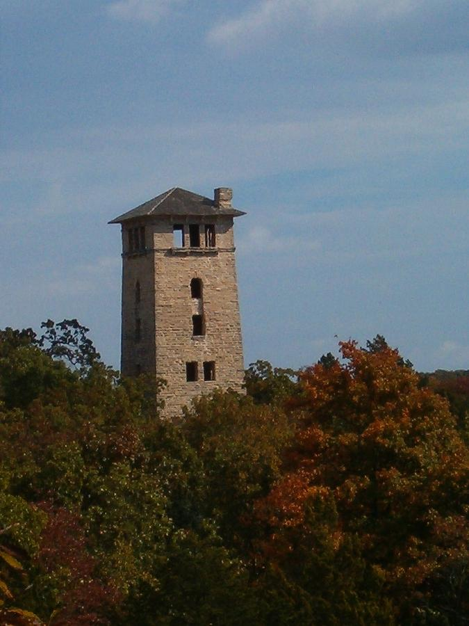 Water Tower Photograph - Ha Ha Tonka Water Tower by Sara  Raber