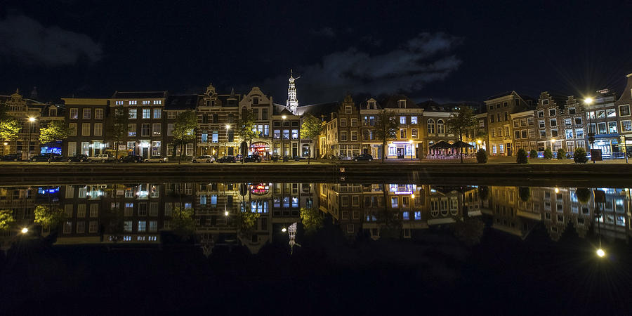 Haarlem Photograph - Haarlem Night by Chad Dutson