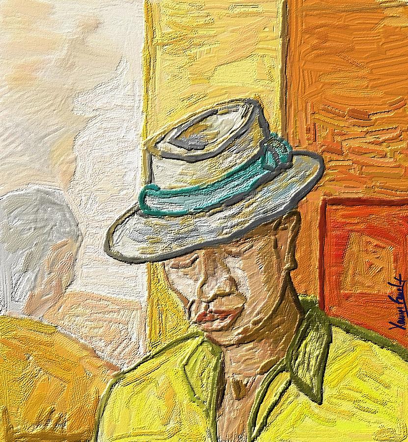 Figurative Painting - Habana by Xavier Ferrer
