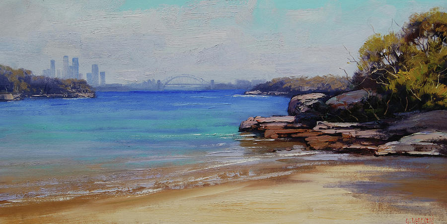 Habour Beach Sydney Painting