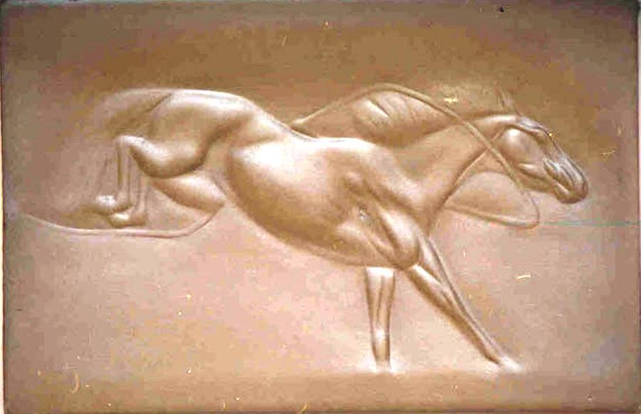 Hacking Horse Relief - Hacking Horse by Ahmed Shalaby