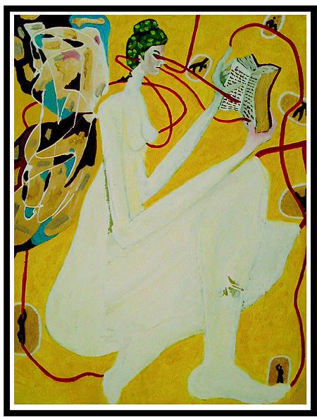 Hada Escritura Painting by Victor Varela
