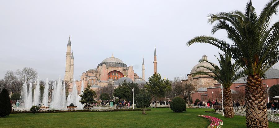 Hagia Sophia Photograph - Hagia Sophia by Niyazi Ugur Genca