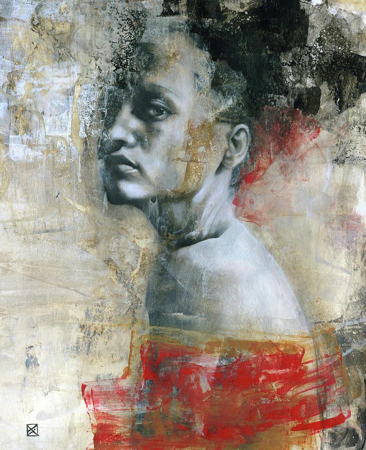 Woman Painting - Haiku by Patricia Ariel