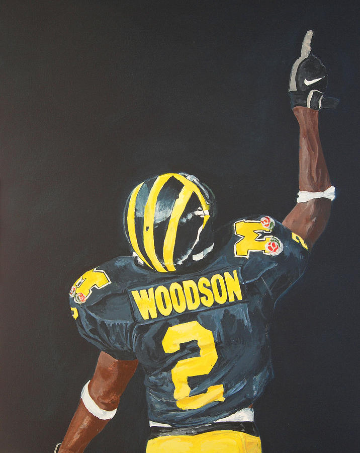 Heisman Painting - Hail Yes by Travis Day