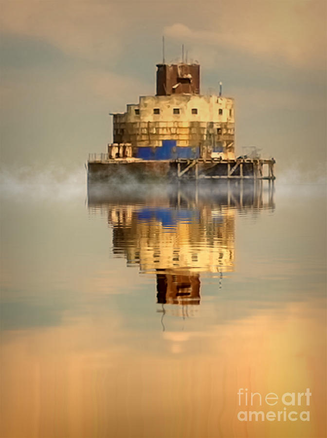 Humber Photograph - Haile Sand Fort by Nick Wardekker