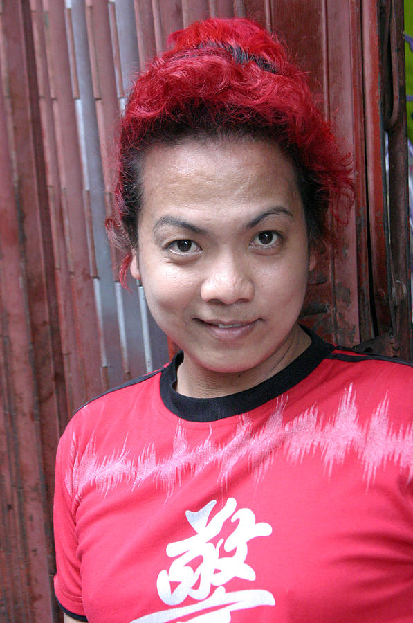 Photographer Photograph - Hairdo Maam 2 by Jez C Self