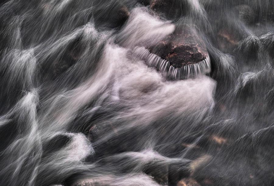 Stone Photograph - Hairy River II by Pekka Sammallahti