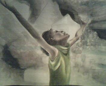 Haiti Earthquake 2010 Painting - Haiti by Courtney Barriger