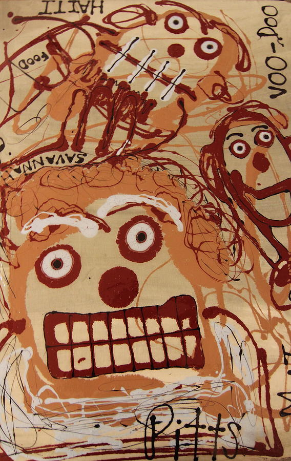 Haiti Painting - Haitian History by Greg Pitts