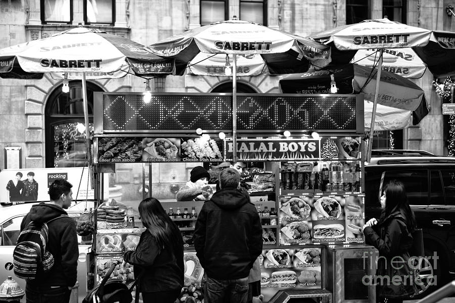 Halal Photograph - Halal Boys by John Rizzuto