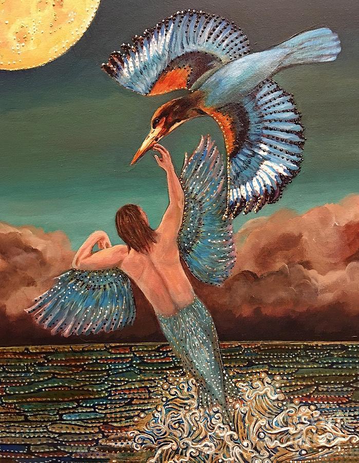 Halcyon Birds by Linda Markwardt