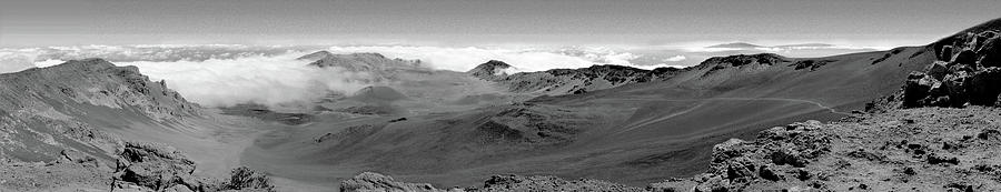 Volcano Photograph - Haleakala Crater Pano by Peter J Sucy